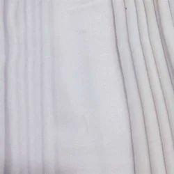 white pure cotton shirt fabric