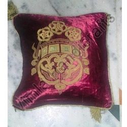 Velvet Patch Work Cushion Covers