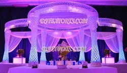 New Designer Crystal Mandap Set