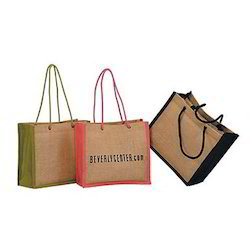 Cord Handle Jute Bags