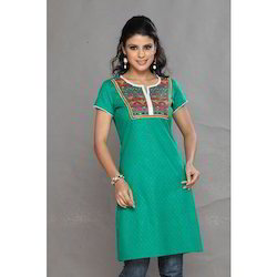 Embroidered Work Kurtis