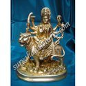 Brass Statue Of Durga Ji