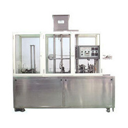 Automatic Glass, Cup Filling And Foil Sealing Machine