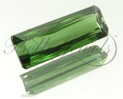 Certified Afghan Green Color Tourmaline Gemstone