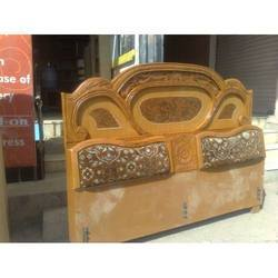 Teak Wood Double Bed