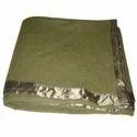 Olive Wool Blanket