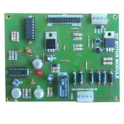 DC Motor Controller Card With Module