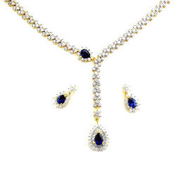 Zircon Jewelry Necklace Set