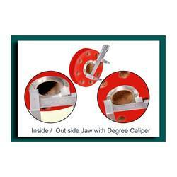 Inside/outside Jaw with Degree caliper