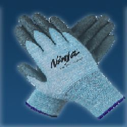 Nitrile Coated Nylon Gloves CE Marked