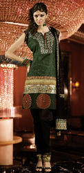 Silk Embroidered Salwar