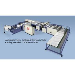 Automatic Fabric Cutting and Stitching Machine
