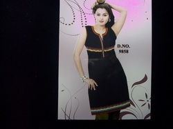 Stylish Neckline Kurta