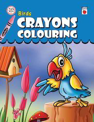 Crayons Coloring - Birds Books