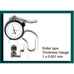Roller Type Thickness Gauge