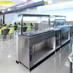 Buffet Counter For Corporate Offices