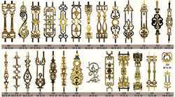 Cast Iron Decorative Grills