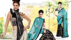 Printed Crystal Saree