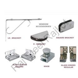 Zinc Glass Fitting Accessories