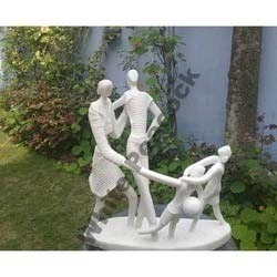Abstract Family Statues