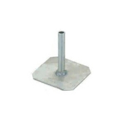 Square Earth Plate With Aluminum Pipe