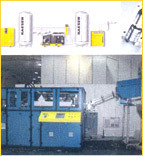 Blow Molding Machine with Compressors and Accessories
