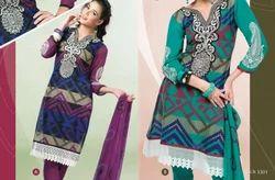 Cotton Salwar Suit Fabric