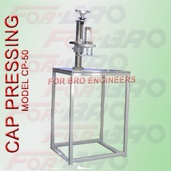 Cap Pressing Machine