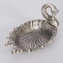 Swan Shaped Metal Tray