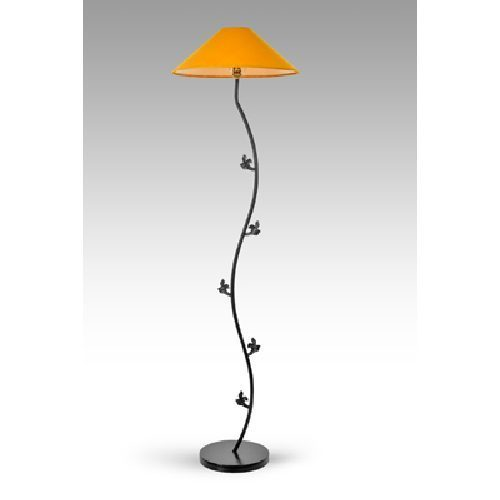 Yellow Cover Pedestal Lamps