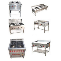 Kitchen Equipment - Commercial Gas Burner and Shawarma Machine