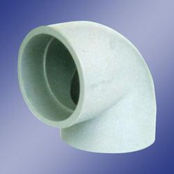 plain socket type molded elbow