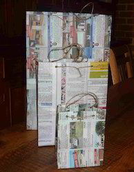 News Paper Bags Made From Old News Papers