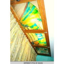 Ceiling Glass Design (Windows)