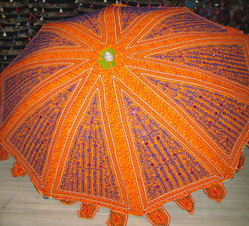 Indian Tribal Handwork Parasol