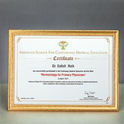 Raw materials under expert supervision these certificate frames are