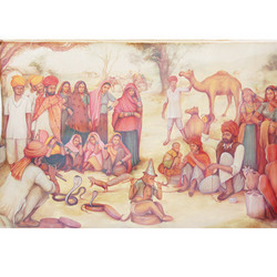Rural Rajasthani Painting