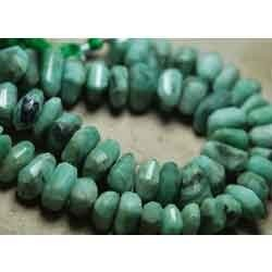 New Fancy Nuggets Natural Emerald Faceted Fancy Nuggets