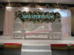 Asian Wedding White Love Furniture Set