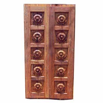 Wooden Doors Temple Doors Exporter From Secunderabad