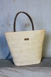 Banana Fibre Fabric Basket Bags