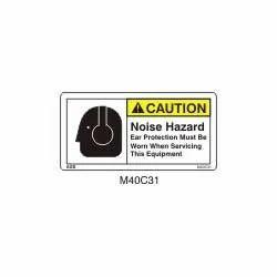 Noise Hazard Signs