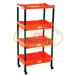 Four Shelves Trolley