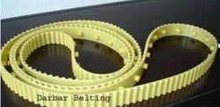 Carding machine belt