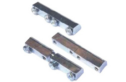 Chrome Plated Brass Hinges