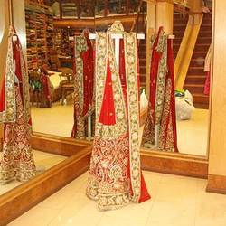 Bridal Ghagra With Saree