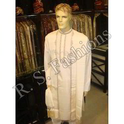 Kurta Churidar With Long Jacket