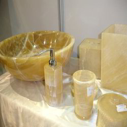 Honey Onyx Bathroom Accessories