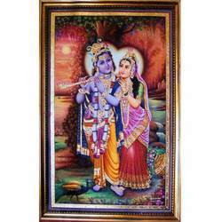 Attractive Radha Krishna Painting