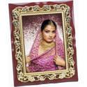Photo Frame with Leaf Border